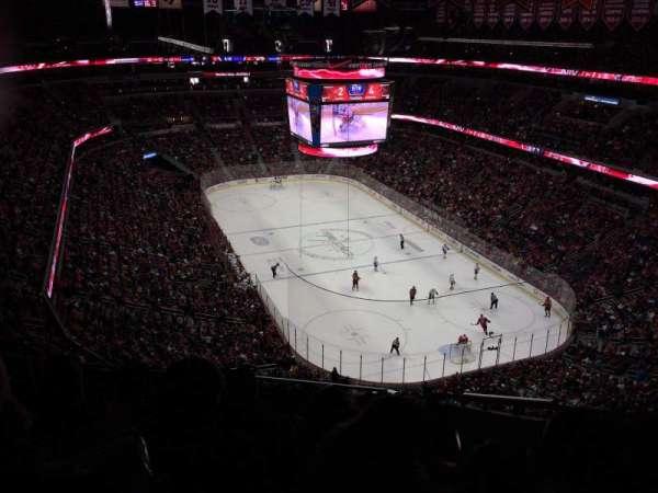 Capital One Arena, secção: 406, fila: K, lugar: 17