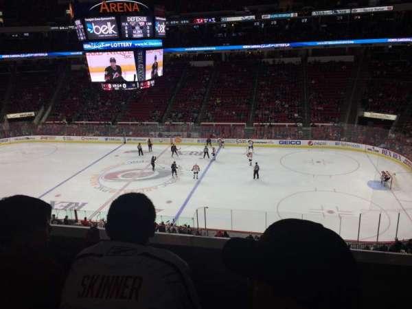 PNC Arena, secção: 202, fila: B