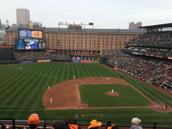 Oriole Park at Camden Yards, secção: 354, fila: 4