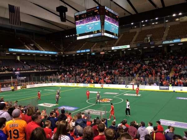 Royal Farms Arena, secção: 106, fila: k, lugar: 4