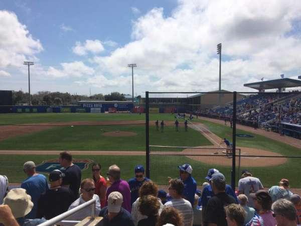 Florida Auto Exchange Stadium, secção: 204, fila: 4, lugar: 11