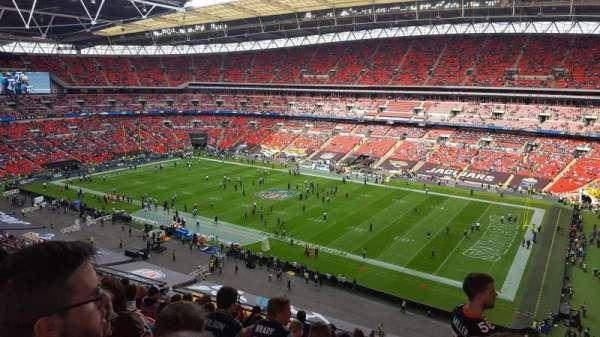 Wembley Stadium, secção: 522, fila: 10, lugar: 266