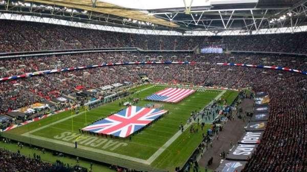Wembley Stadium, secção: 536, fila: 20, lugar: 279