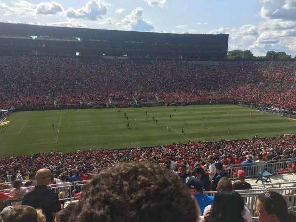 Michigan Stadium, secção: 3, fila: 83, lugar: 8