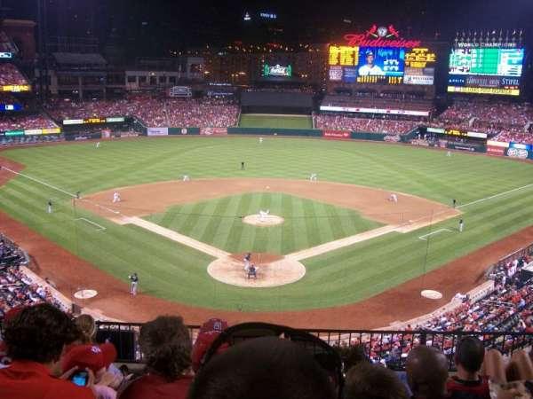 Busch Stadium, secção: 250, fila: 6, lugar: 8