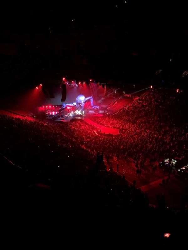 Scotiabank Arena, secção: 306, fila: 11, lugar: 4