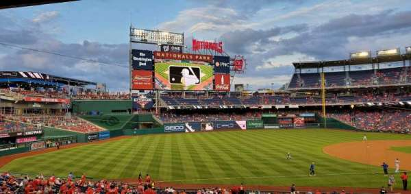 Nationals Park, secção: 112, fila: TT, lugar: 21