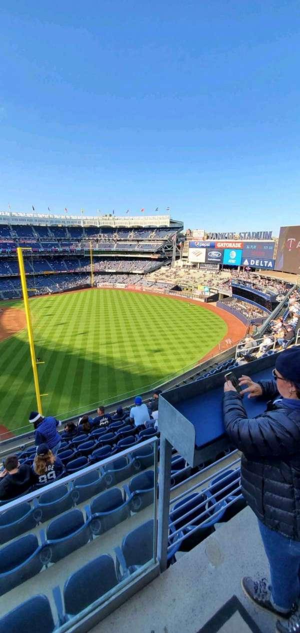 Yankee Stadium, secção: 309, fila: 6, lugar: 9