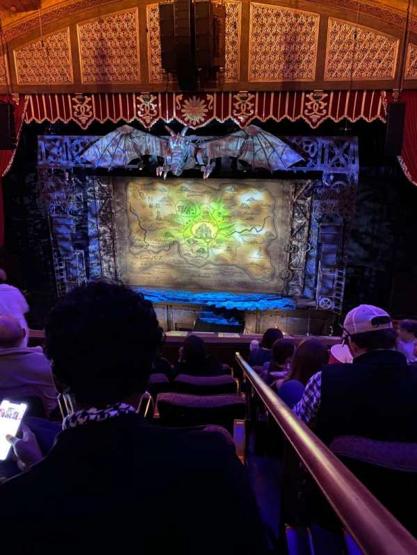 Fox Theatre (Atlanta), secção: Loge Right A, fila: FF, lugar: 114