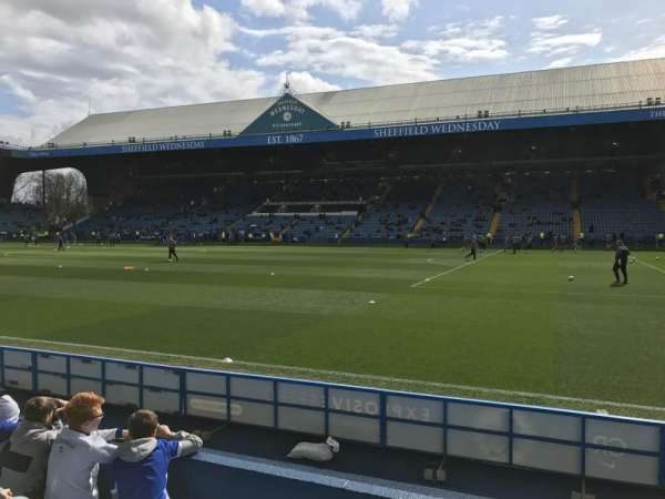 Hillsborough Stadium, secção: North stand T1, fila: 5, lugar: 201