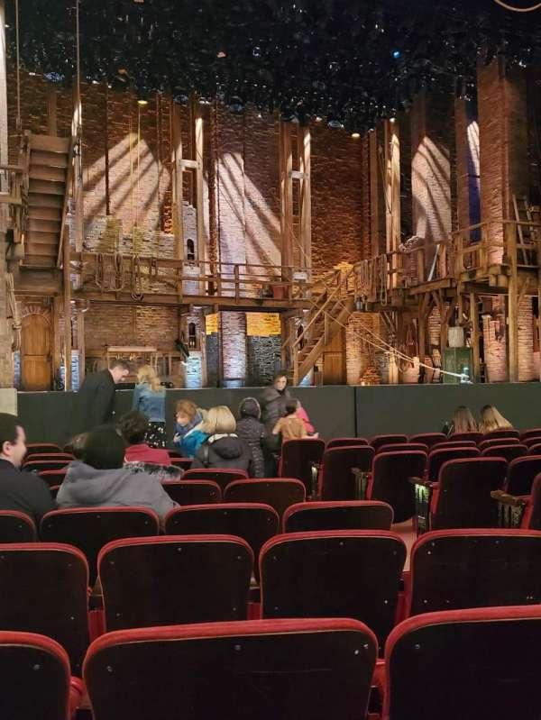 CIBC Theatre, secção: Orchestra L, fila: L, lugar: 7