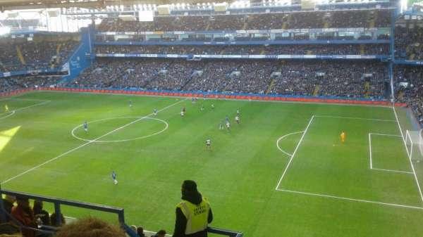 Stamford Bridge, secção: East Stand Upper 7, fila: 18, lugar: 0005