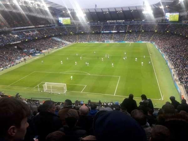 Etihad Stadium (Manchester), secção: 314, fila: K, lugar: 358
