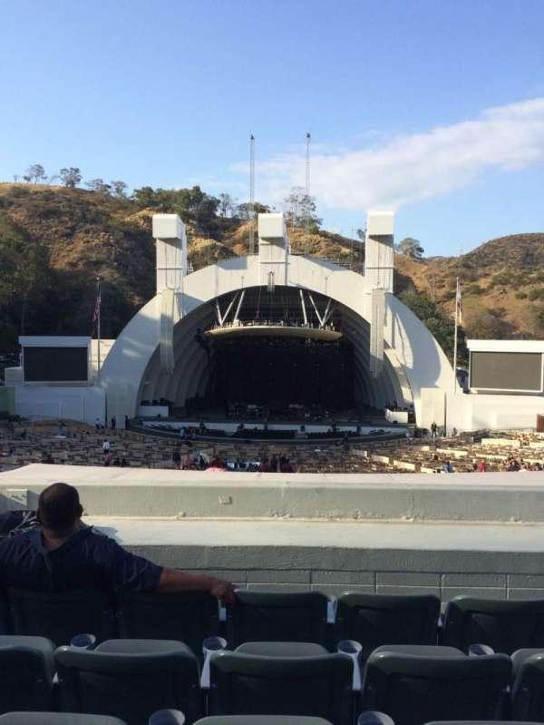 Hollywood Bowl, secção: G1, fila: 8, lugar: 17