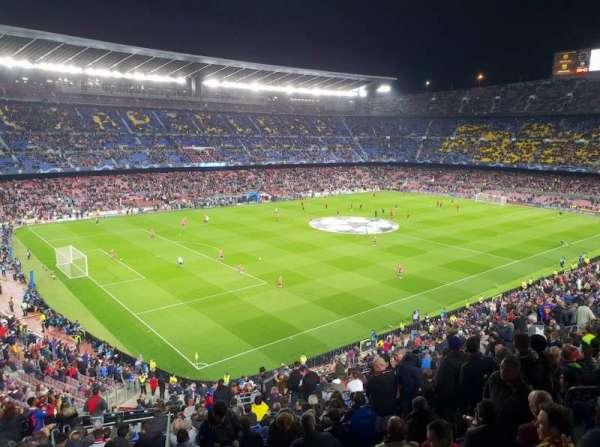 Camp Nou, secção: 329, fila: 35, lugar: 108