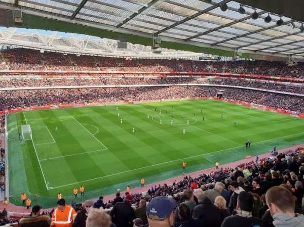 Emirates Stadium, secção: 94, fila: 15, lugar: 12