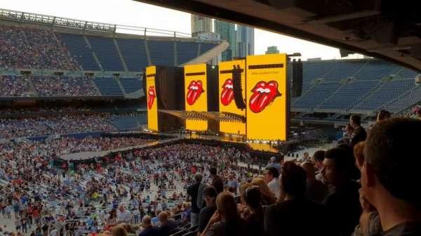 Soldier Field, secção: 210, fila: 15, lugar: 6