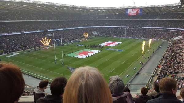 Twickenham Stadium, secção: U41, fila: E, lugar: 72