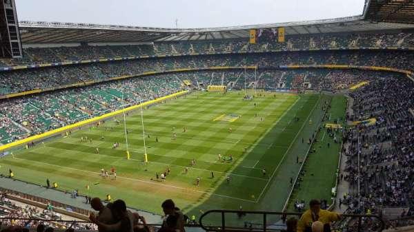 Twickenham Stadium, secção: U16, fila: L, lugar: 21