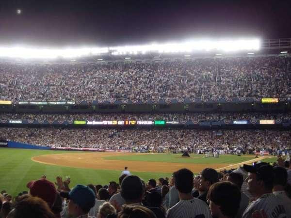 Old Yankee Stadium, secção: Field Box 88, fila: J, lugar: 1