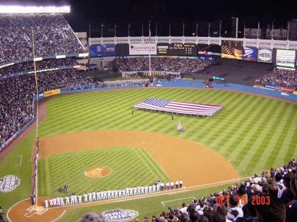 Old Yankee Stadium, secção: U9, fila: J, lugar: 3