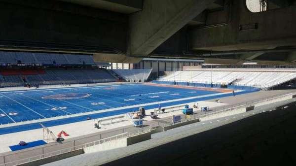 Albertsons Stadium, secção: 25, fila: U, lugar: 1