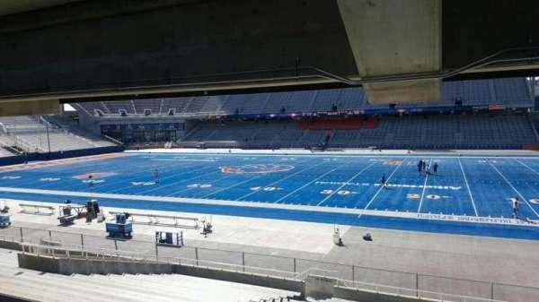 Albertsons Stadium, secção: 21, fila: W, lugar: 18