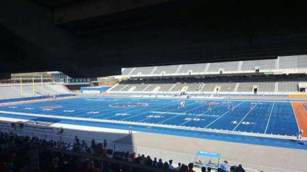 Albertsons Stadium, secção: 6, fila: W, lugar: 9