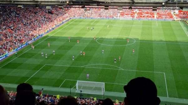 Old Trafford, secção: W3104, fila: 35, lugar: 61