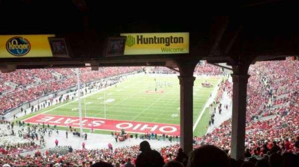 Ohio Stadium, secção: 3B, fila: 13, lugar: 22