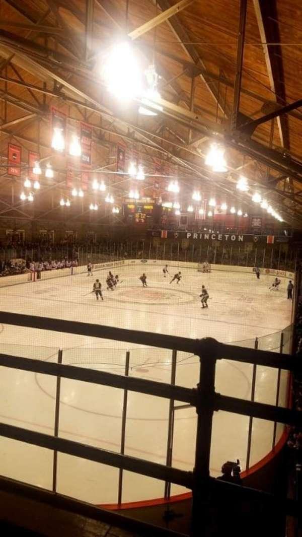 Hobey Baker Memorial Rink, secção: 201, fila: B, lugar: 1