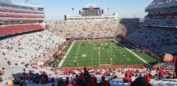 Memorial Stadium (Lincoln), secção: 16-B2, fila: 97, lugar: 46