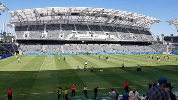 Banc of California Stadium, secção: 134, fila: Q, lugar: 4