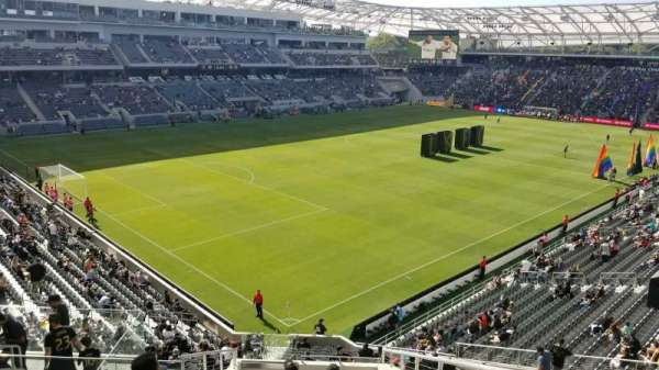 Banc of California Stadium, secção: 228, fila: L, lugar: 2