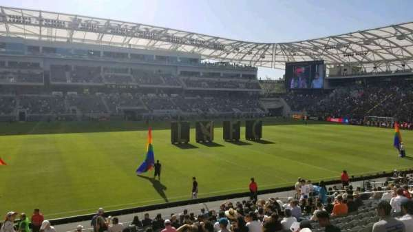 Banc of California Stadium, secção: 115, fila: T, lugar: 23