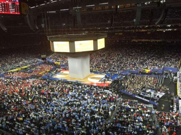 NRG Stadium, secção: 530, fila: G, lugar: 26