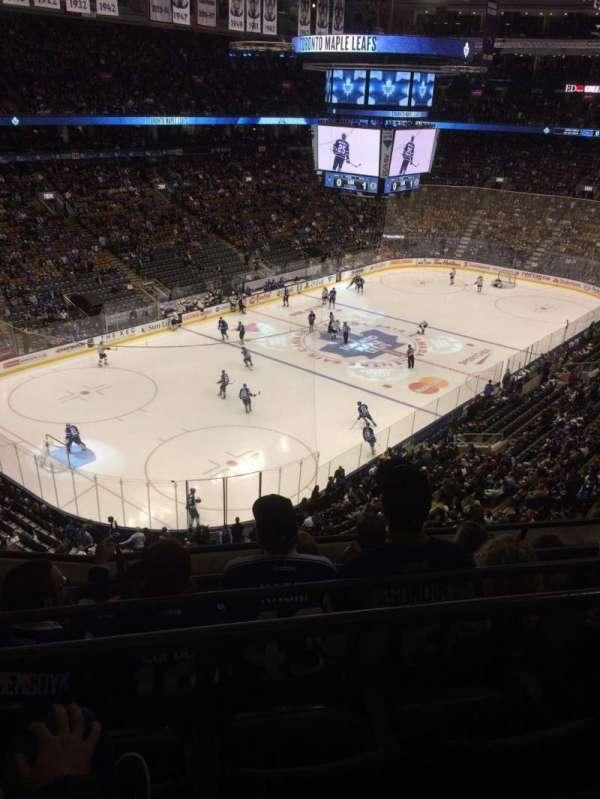Scotiabank Arena, secção: 312, fila: 5, lugar: 21