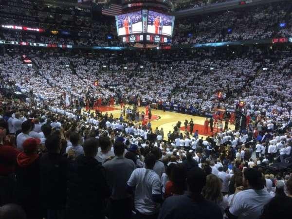 Scotiabank Arena, secção: 106, fila: 21, lugar: 1