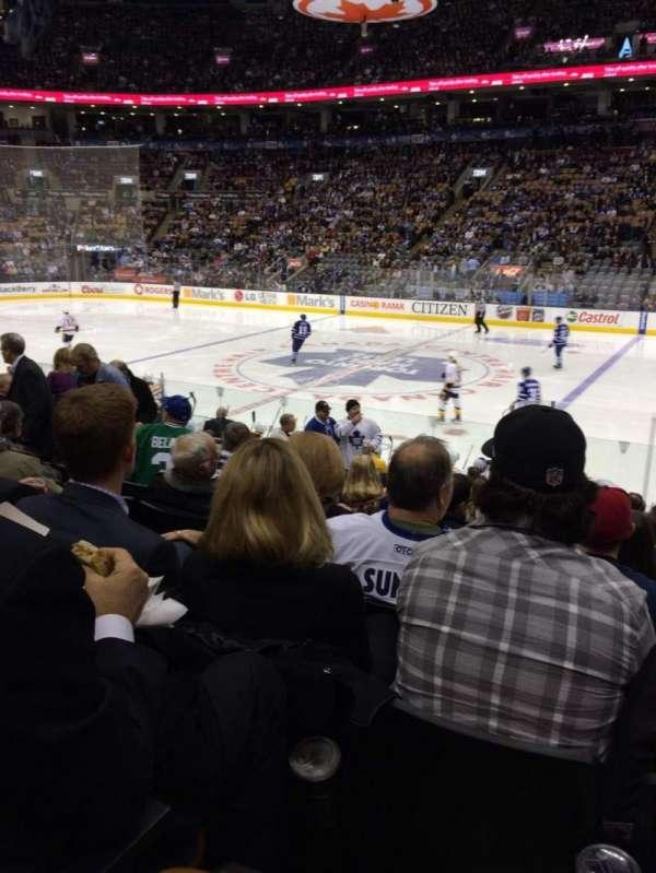 Scotiabank Arena, secção: 118, fila: 14, lugar: 16