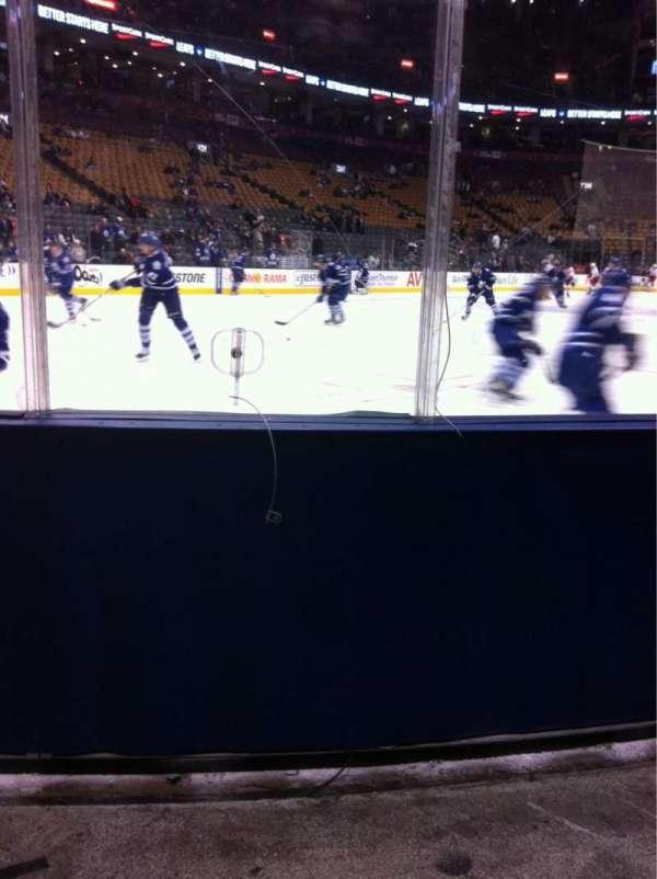 Scotiabank Arena, secção: 101, fila: 5, lugar: 1