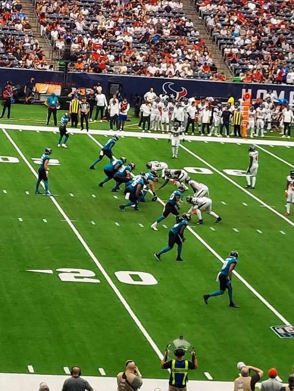 NRG Stadium, secção: 129, fila: JJ, lugar: 21