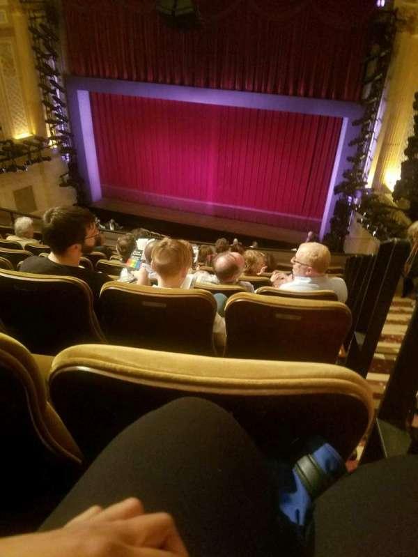 Samuel J. Friedman Theatre, secção: Mezzanine C, fila: F, lugar: 121