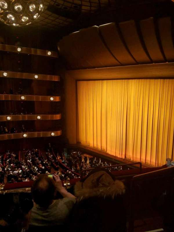 David H. Koch Theater, secção: 3rd Ring, fila: C, lugar: 38