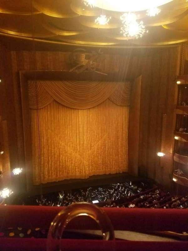 Metropolitan Opera House - Lincoln Center, secção: Balcony, fila: A, lugar: 3