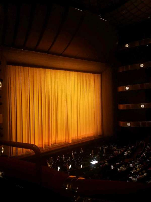 David H. Koch Theater, secção: 2nd ring, fila: A, lugar: 35