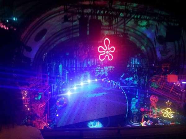 Palace Theatre (Broadway), secção: Balcony, fila: C, lugar: 15