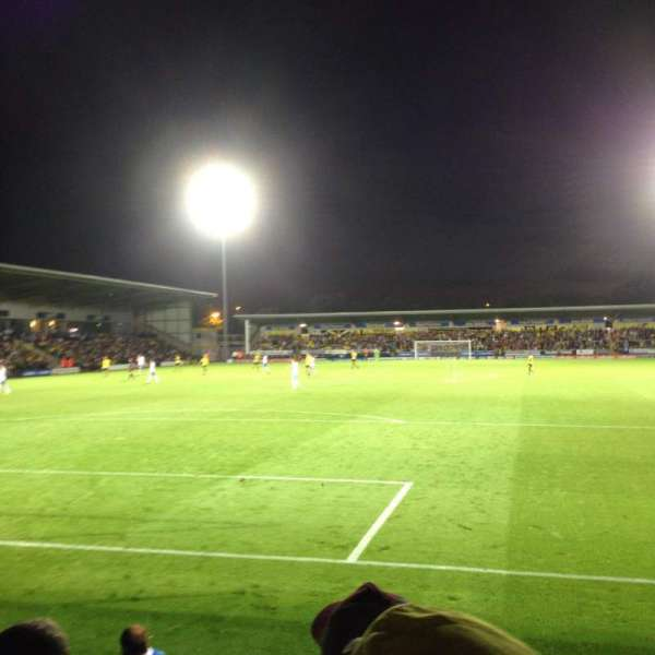 Pirelli Stadium, secção: Visitors