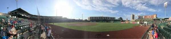 Parkview Field, secção: 101, fila: C, lugar: 14