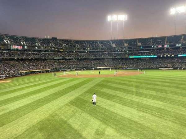 Oakland Coliseum, secção: 148, fila: 27, lugar: 6
