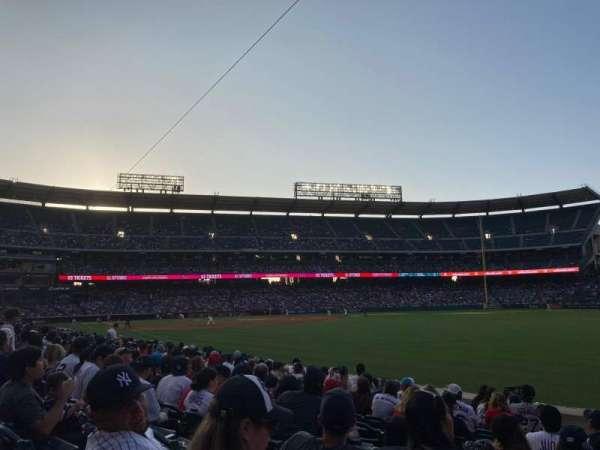 Angel Stadium, secção: 129, fila: K, lugar: 5